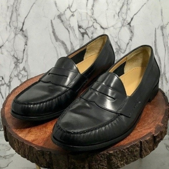 Cole Haan Other - Cole Haan Men's Black Pinch Penny Loafer